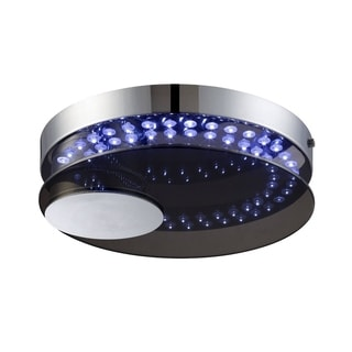Lite Source Kelcy LED Round Flush Mount