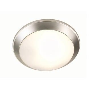 Lite Source Glow Pan Large Flush Mount