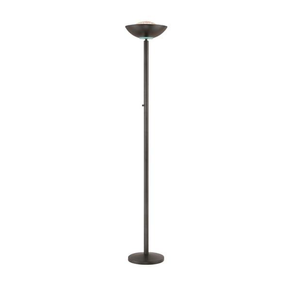 Lite Source Basic II Torchiere Lamp, Black