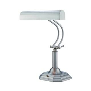 Lite Source Piano Mate Piano Desk Lamp, Steel