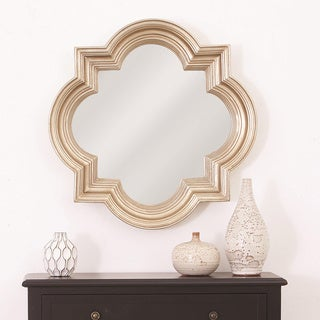 The Gatsby Wall Mirror With Platinum Gold Frame