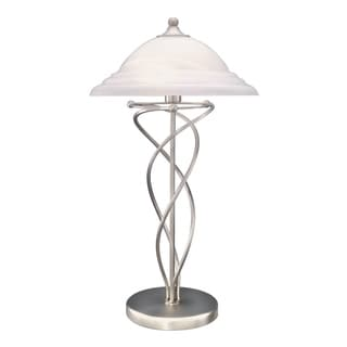 Lite Source Majesty Table Lamp, Steel
