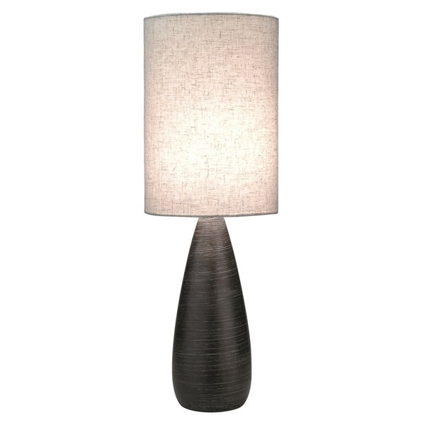 Lite Source Quatro II Slim Smooth Table Lamp