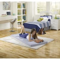Shop Linon Trento Memory Foam Folding Guest Bed On Sale