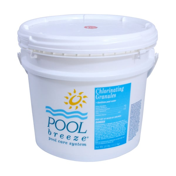 Pool Breeze Chlorinating Granules 25-Pounds