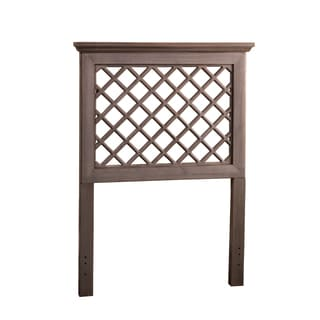 Hillsdale Furniture's Kuri Headboard in a Distressed Gray Finish
