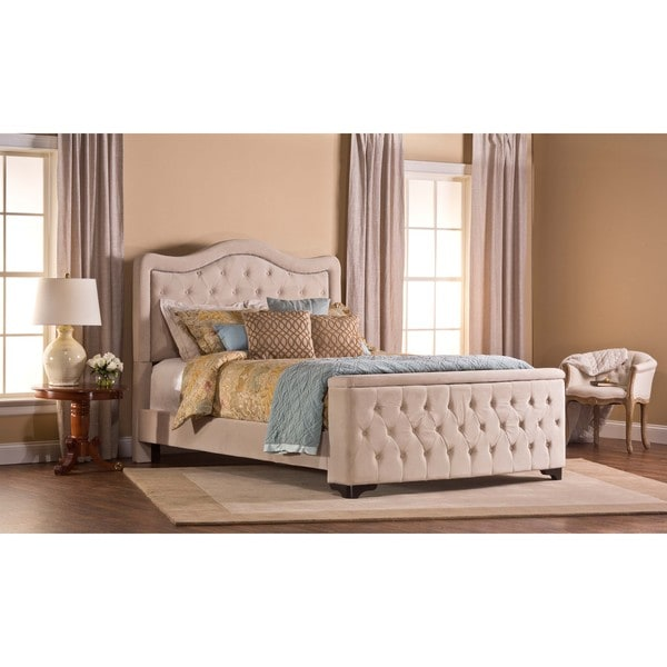 Hillsdale Furniture's Trieste Buckwheat Upholstered Storage Bed Set