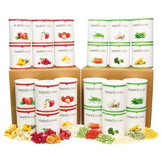 Nutristore Ultimate 960 Serving Fruit &and Vegetable Food Storage Supply