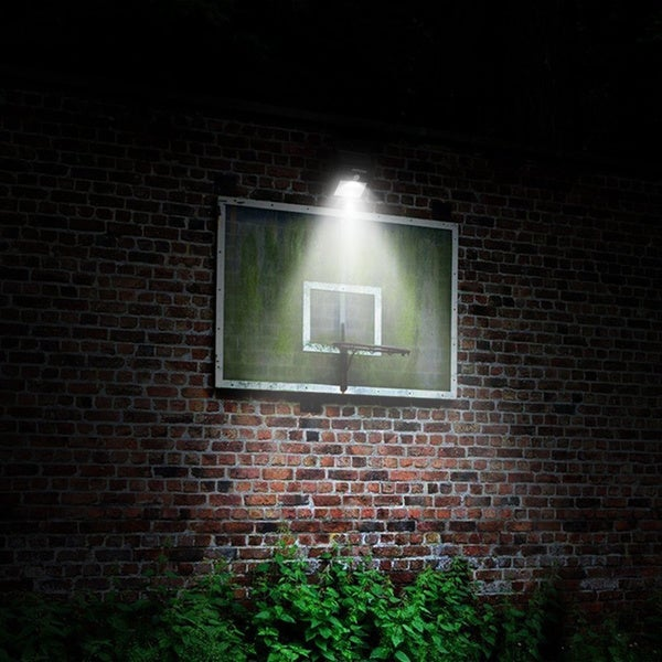 Mpow Solar Powered 8 LED Wireless Security Motion Sensor Outdoor Wall/ Garden L& - Free Shipping On Orders Over $45 - Overstock.com - 17343782 & Mpow Solar Powered 8 LED Wireless Security Motion Sensor Outdoor ... azcodes.com