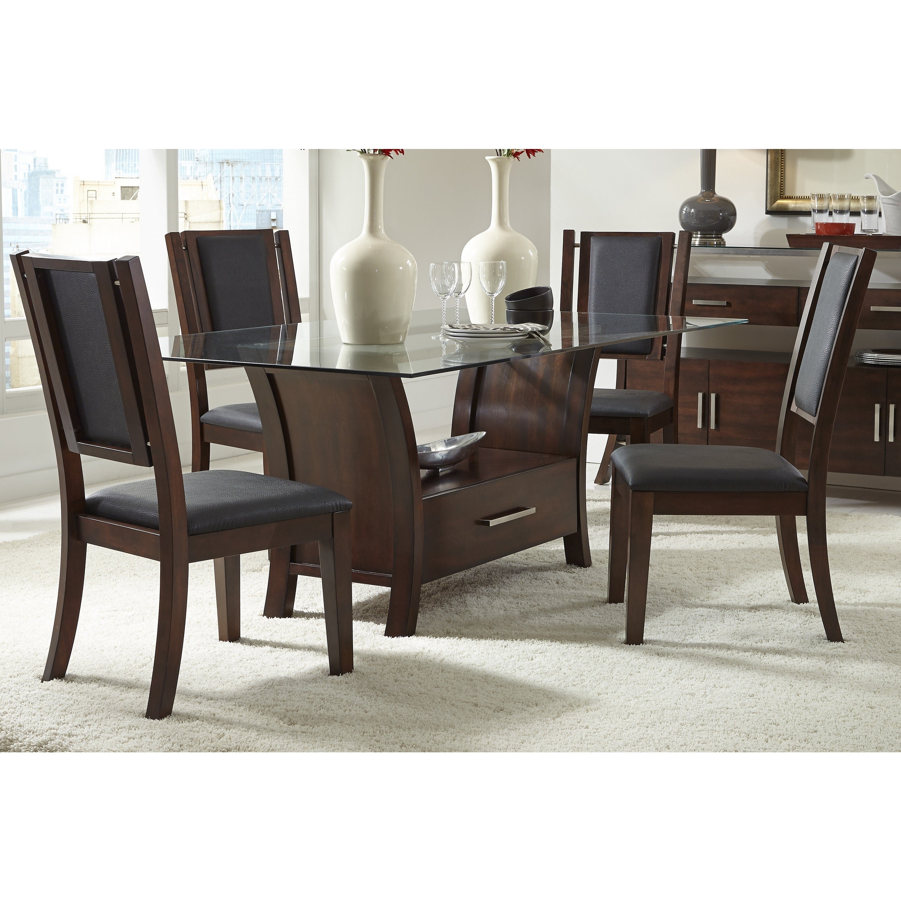 Avalon Dining Table Overstock 10222503