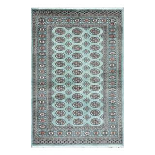 Herat Oriental Pakistani Hand-knotted Bokhara Wool Rug (4'1 x 6'1)