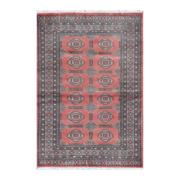 Herat Oriental Pakistani Hand-knotted Bokhara Wool Rug (4' x 5'9)