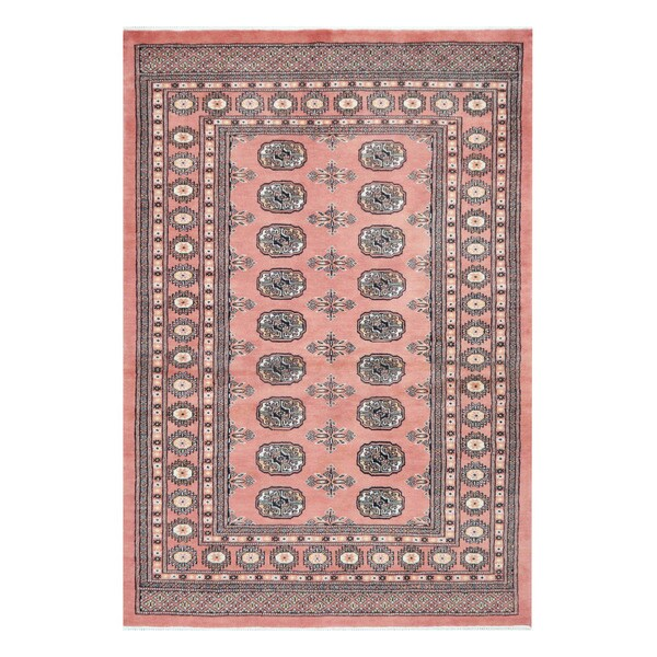 Persian Bokhara Hand Knotted Wool Area Rug: Shop Herat Oriental Pakistani Hand-knotted Bokhara Wool