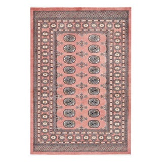 Herat Oriental Pakistani Hand-knotted Bokhara Wool Rug (4'3 x 6'2)