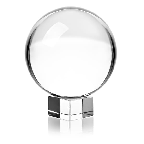 Crystal Ball Decorative Object