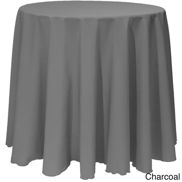 Solid Color 120inches Round Vibrant Color Tablecloth Free Shipping On  Orders Over 45