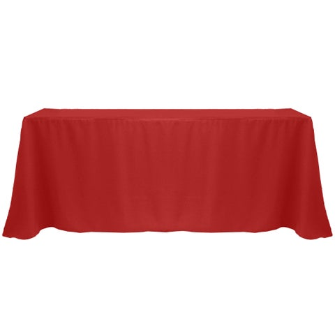 Solid Color 90 x 132-inches Vibrant Color Tablecloth - 90 x 132