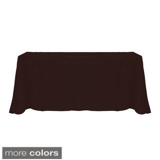 Solid Color 90 x 132-inches Bright Colorful Tablecloth - 90 x 132