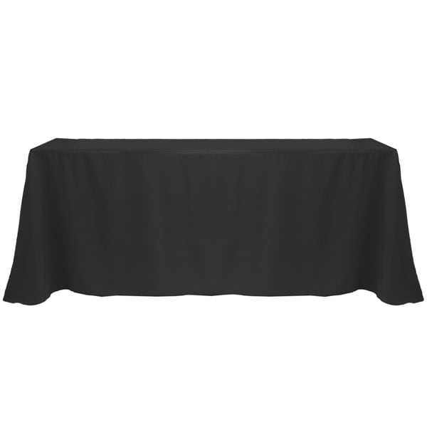 Superieur Solid Color 90 X 156 Inches Vibrant Tablecloth