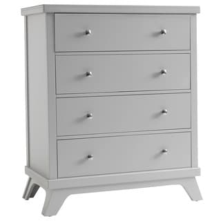 Sealy Bella 4-drawer Mid-century Grey Dresser