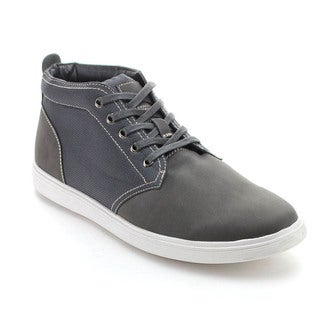 Arider BURTON-03 Men's Lace-up Casual Two Tone High-Top Sneakers