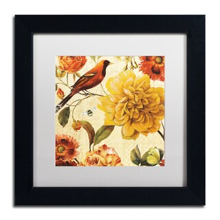 Lisa Audit 'Rainbow Garden Spice II' Matted Framed Art
