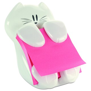 Post-it Pop-Up White Note Dispenser Cat Shape