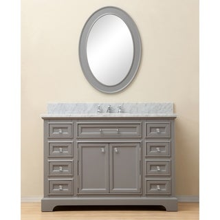 Water Creation Derby 48-inch Cashmere Grey Single Sink Bathroom Vanity (4 options available)