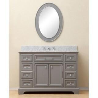 Water Creation Derby 48 Inch Cashmere Grey Single Sink Bathroom Vanity