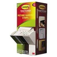 Command Picture White Hanging Strips
