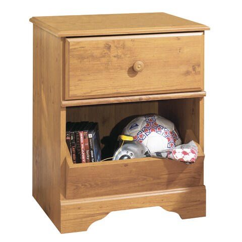 South Shore Little Treasures 1-drawer Night Stand - Brown