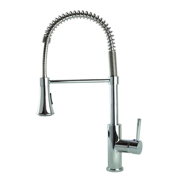 Fontaine Chrome Modern European Residential Spring Kitchen Faucet