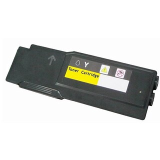 Compatible 331-8430 High Yield Yellow Toner Cartridge for Dell C3760 and C3765 Laser Printers