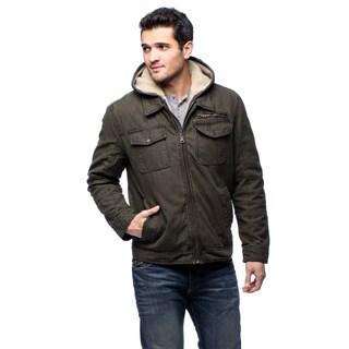 GH Bass Mens GH5MC504 Fleece Hoodie Polyester Lined Jacket