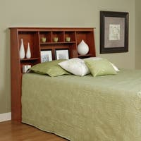 Laurel Creek Chelsea Cherry Full/Queen Tall Slant-Back Bookcase Headboard
