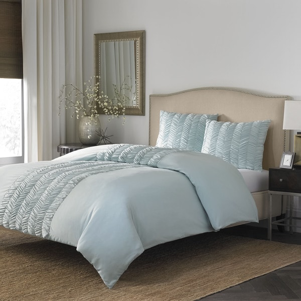 Stone Cottage Corinna Azure 3-piece Duvet Cover Set