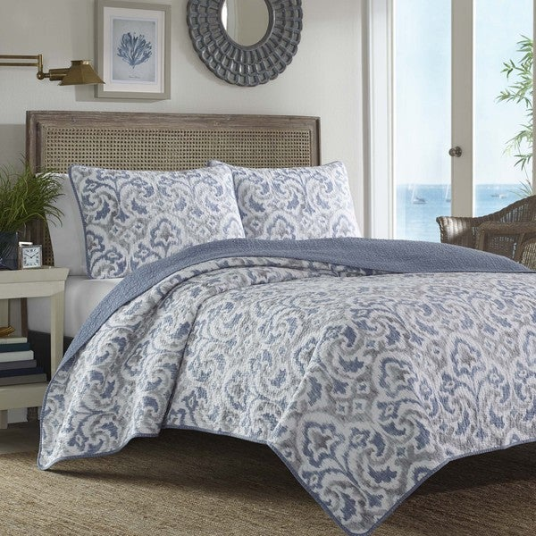 Shop Tommy Bahama Cape Verde 3 Piece Quilt Set On Sale