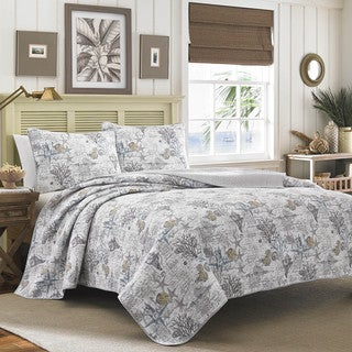 Link to Tommy Bahama Beach Bliss 3-piece Quilt Set Similar Items in Quilts & Coverlets