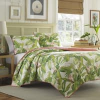 Tommy Bahama Aregada Dock Ecru Cotton 3-piece Quilt Set