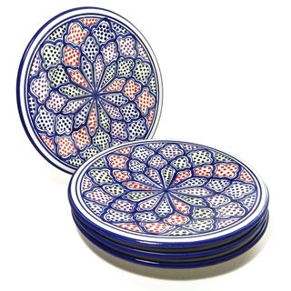 Dinner Plates (Set of 4)  Blanqa Design, by Le Souk Ceramique