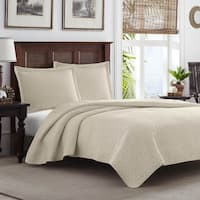 Tommy Bahama Dune Chevron 3-piece Quilt Set