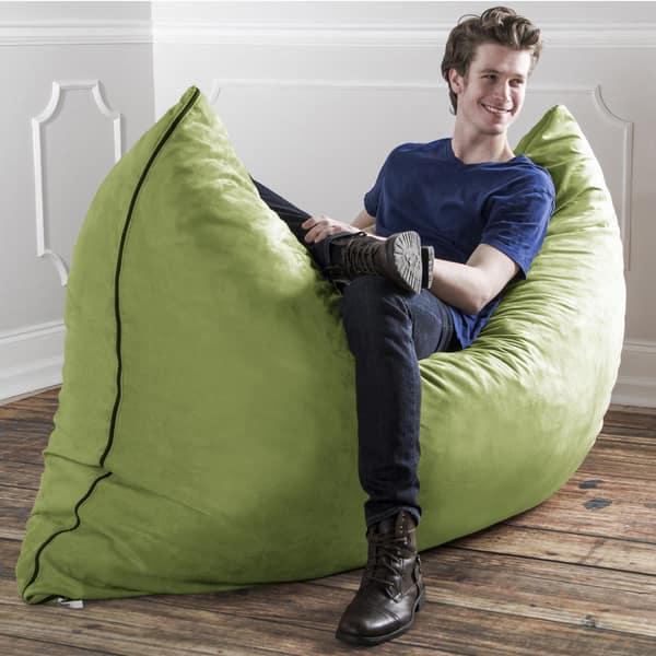 Awesome Shop Jaxx 5 5 Pillow Sak Gigantic Bean Bag Chair On Sale Andrewgaddart Wooden Chair Designs For Living Room Andrewgaddartcom