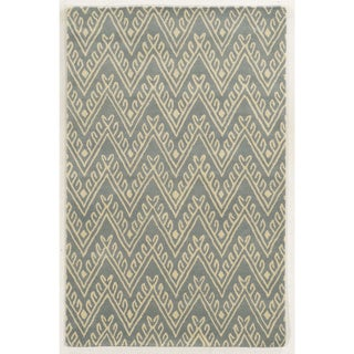 Bradberry Downs Light Grey/ White Wool Accent Rug (9' x 12')