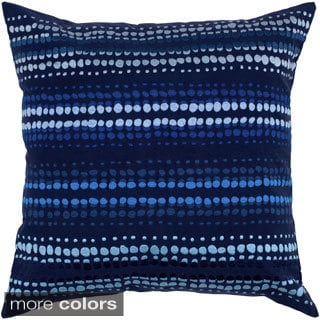 Rizzy Home Stone Wash Anna Redmond Embroidered 20-inch Decorative Throw Pillow