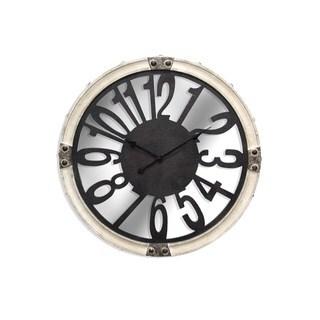 Round Metal Wall Clock