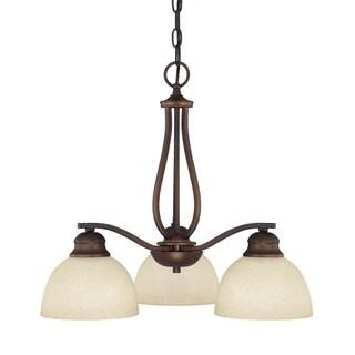 Capital Lighting Stanton Collection 3-light Burnished Bronze Chandelier