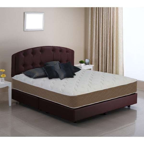 shop wolf lifetone full size firm mattress free shipping today overstock 10223446. Black Bedroom Furniture Sets. Home Design Ideas