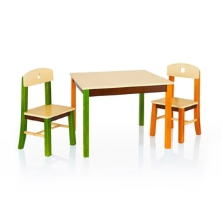See and Store Table and Chairs Set