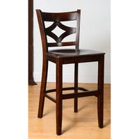 X Back Microfiber Seat Counter Stool Free Shipping Today