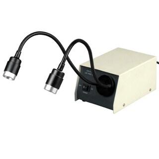 14-LED Microscope Dual Gooseneck Lights